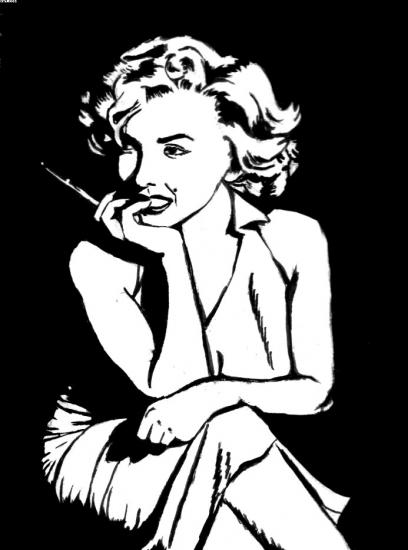 Marilyn Monroe by S-rof